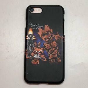 iPhone 7 Groot + Rocket Case
